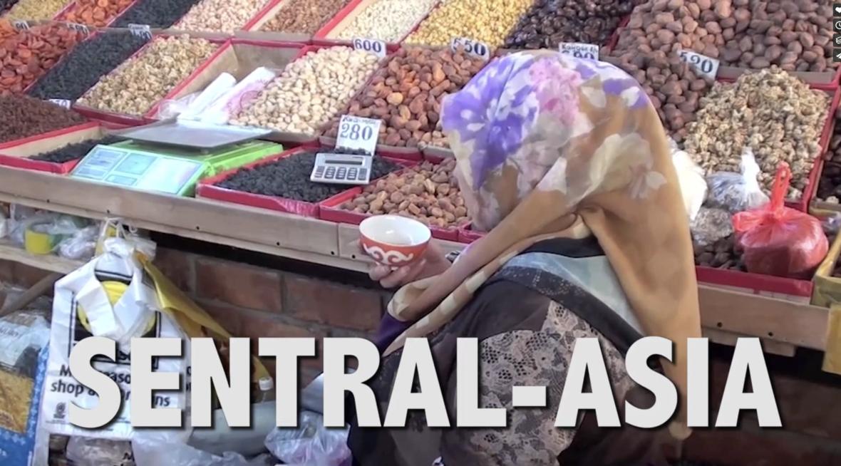 Sensitive områder - Sentral Asia