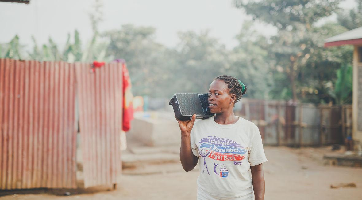 Healing Voice hjelper Ari-kvinner i Etiopia